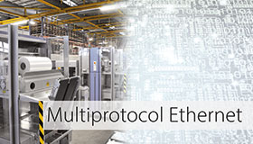 Condition Monitoring with Multiprotocol Ethernet